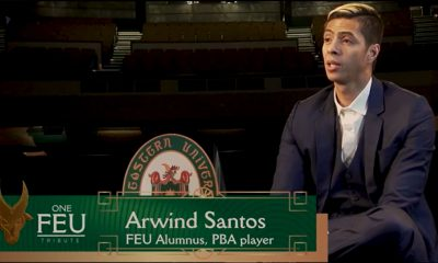 Tiebreaker Times Arwind Santos, FEU pay tribute to Tamaraw graduates of 2020 Basketball FEU News PBA  San Miguel Beermen PBA Season 45 FEU Men's Basketball Coronavirus Pandemic Aurelio Montinola III Arwind Santos