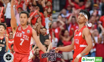 Tiebreaker Times Baser Amer understands Evan Nelle's decision to transfer to La Salle Basketball NCAA News SBC  San Beda Seniors Basketball NCAA Season 95 Seniors Basketball NCAA Season 95 Evan Nelle Baser Amer