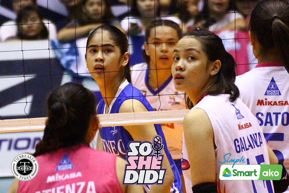 Tiebreaker Times Jema Galanza, Deanna Wong share challenges, hardships of being in public eye News PVL Volleyball  Jema Galanza Deanna Wong Creamline Cool Smashers Choco Mucho Flying Titans 2020 PVL Season