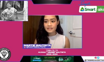 Tiebreaker Times Martie Bautista on FIFA prexy's letter: 'It must have been cool for Yana to see' Football News  Yana Bautista Martie Bautista Gianni Infantino FIFA Coronavirus Pandemic