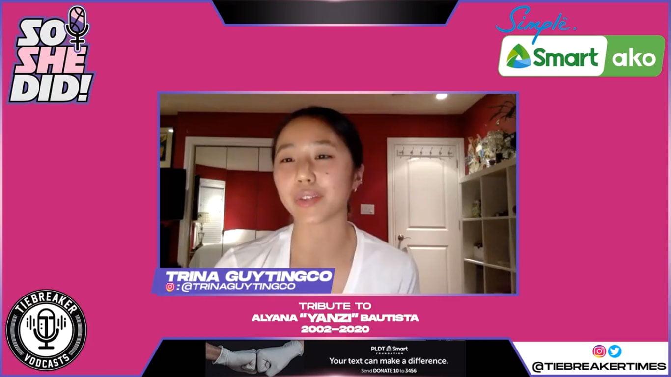 Tiebreaker Times Trina Guytingco shares mentally exhausting COVID-19 experience Basketball Gilas Pilipinas News  Katrina Guytingco Coronavirus Pandemic