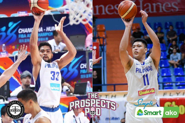 Tiebreaker Times Cadet Isaac Go molding game to Gilas legend RDO's Basketball Gilas Pilipinas News  Ranidel De Ocampo Isaac Go Gilas Cadets