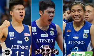 Tiebreaker Times Kiefer Ravena, Alyssa Valdez agree: Marck Espejo is 'Best Phenom Ever' ADMU News UAAP Volleyball  Marck Espejo Kiefer Ravena Jamike Jarin Ella De Jesus Bea De Leon Ateneo Men's Volleyball