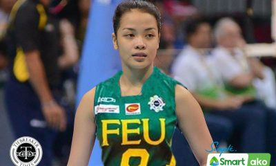 Tiebreaker Times Jema Galanza's school of choice was FEU AdU FEU News UAAP Volleyball  UAAP Season 75 Women's Volleyball UAAP Season 75 Jema Galanza FEU Women's Volleyball Adamson Women's Volleyball