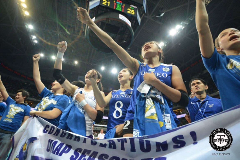 UAAP-Season-76-ADMU-def-DLSU-Champions Until today, Alyssa Valdez, Ella De Jesus remain in awe of magical UAAP 76 run ADMU News UAAP Volleyball  - philippine sports news