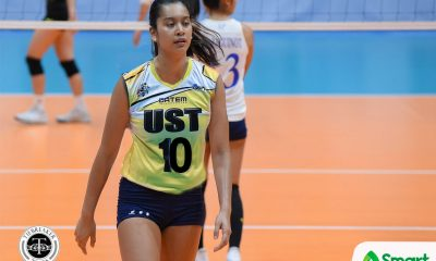 Tiebreaker Times If not Ateneo, Kat Tolentino would have gone to UST ADMU News UAAP UST Volleyball  UST Women's Volleyball UAAP Season 78 Women's Volleyball UAAP Season 78 Kat Tolentino Ateneo Women's Volleyball
