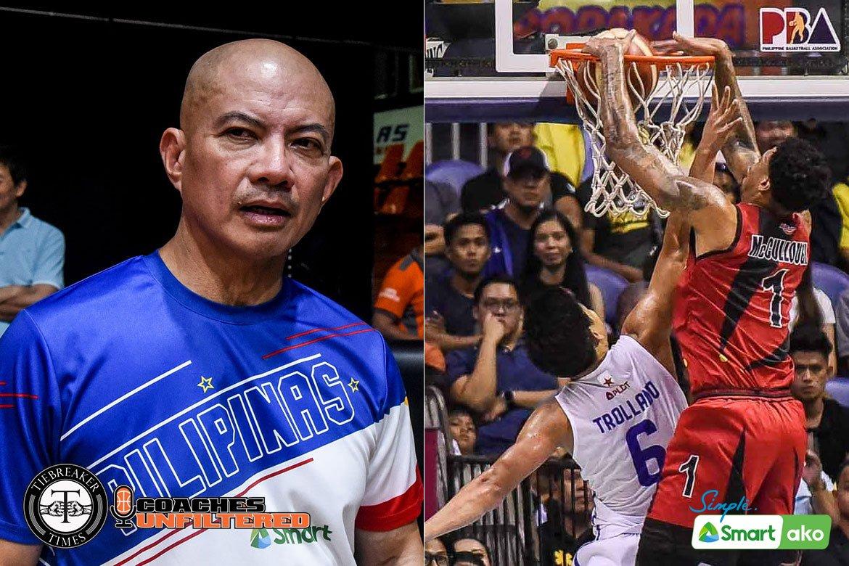 Tiebreaker Times Guiao prefers size for Gilas' next naturalized player, but: 'You just cannot be big' Basketball Gilas Pilipinas News  Yeng Guiao Gilas Pilipinas Men