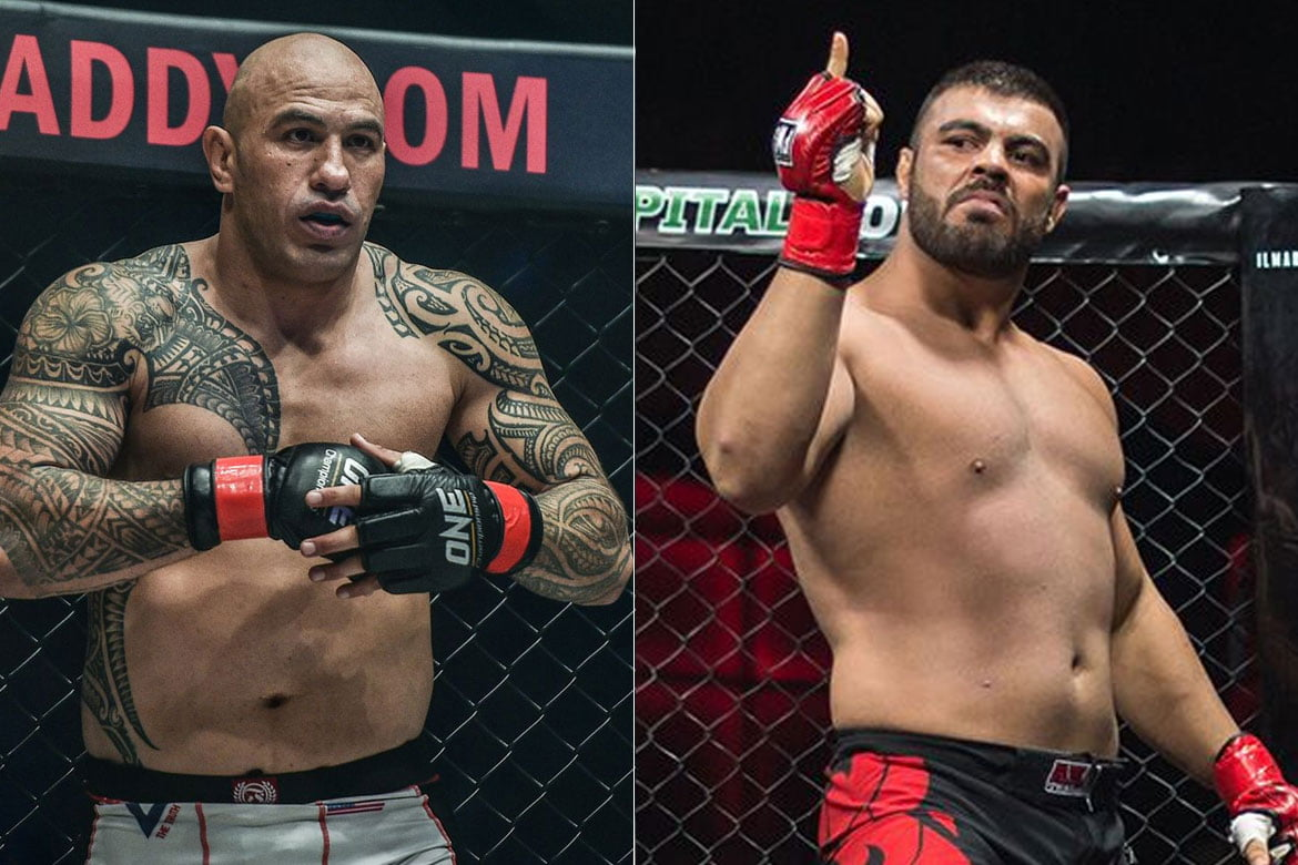 Tiebreaker Times Amir Aliakbari only has one plan: 'I only want one fight and that's Brandon Vera' Mixed Martial Arts News ONE Championship  Brandon Vera Amir Aliakbari
