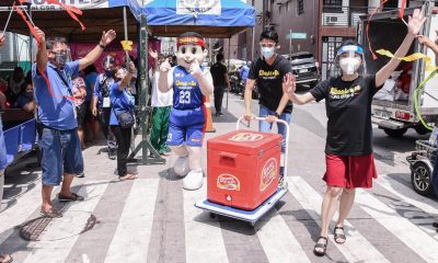Tiebreaker Times BAVI gives 23,000kg of chicken to 23 sectors for 23rd anniversary Chooks-to-Go Pilipinas 3x3 News  Nikko Huelgas Mark Zambrano Mara Aquino Kobe Paras Kiefer Ravena Coronavirus Pandemic Chiqui Reyes