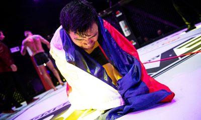 Tiebreaker Times Rolando Dy earns emotional SD win in BRAVE CF 42 Brave CF Mixed Martial Arts News  Rolando Dy Maciek Gierszewski Brave CF 42