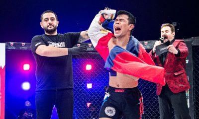 Tiebreaker Times Rolando Dy fights for newborn daughter, son of coach Brave CF Mixed Martial Arts News  Rolando Dy Brave CF 42