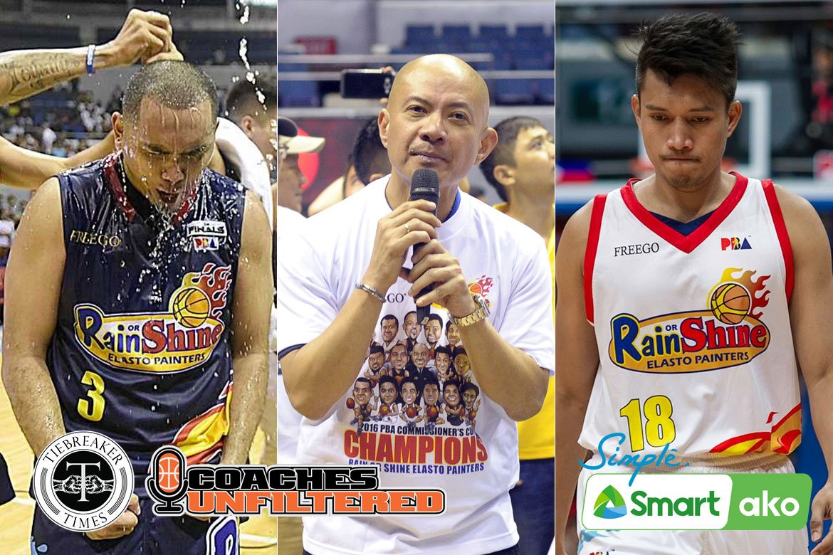 Tiebreaker Times Yeng Guiao would not have pulled trigger on Paul Lee-James Yap trade Basketball News PBA  Yeng Guiao Rain or Shine Elasto Painters Paul Lee James Yap