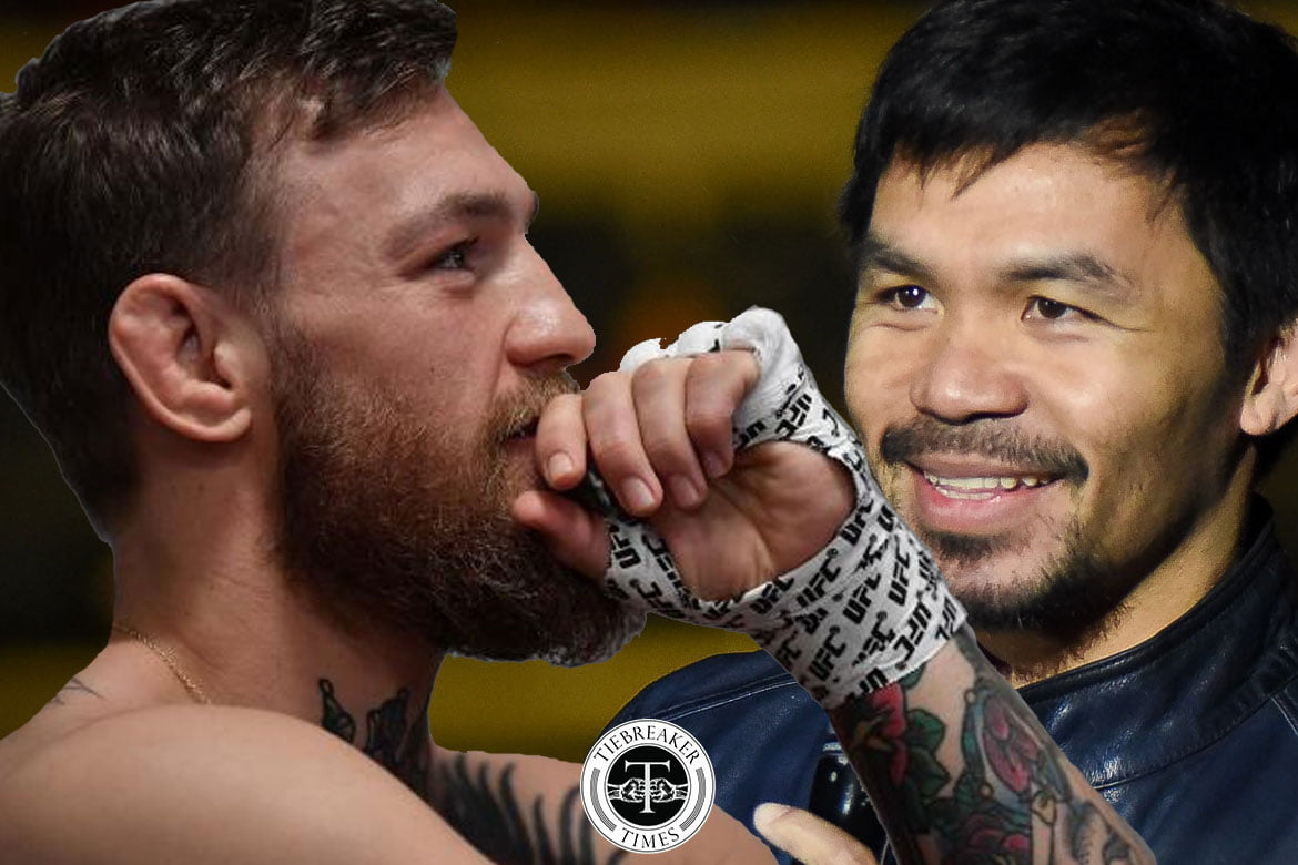 Tiebreaker Times Dana White claims Pacquiao-McGregor off: 'It's a lie' Mixed Martial Arts News UFC  Manny Pacquiao dana white Conor McGregor