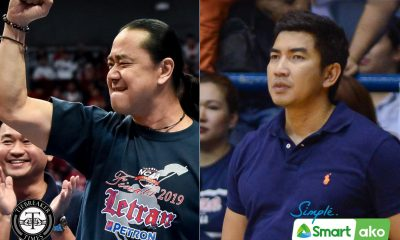 Tiebreaker Times Letran booster Al Chua strongly denies talks with Aldin Ayo Basketball CSJL NCAA News UAAP UST  UST Men's Basketball UAAP Season 83 Men's Basketball UAAP Season 83 NCAA Season 96 Seniors Basketball NCAA Season 96 Letran Seniors Basketball Bonnie Tan Alfrancis Chua Aldin Ayo