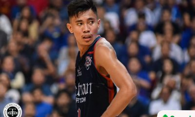 Tiebreaker Times Rhenz Abando on move to Letran: 'Ayoko talaga makalaban UST' Basketball CSJL NCAA News  Rhenz Abando NCAA Season 96 Seniors Basketball NCAA Season 96 Letran Seniors Basketball