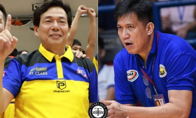 Tiebreaker Times Perpetual looking at Steve Tiu, Jerry Codinera as next Altas head coach Basketball NCAA News UPHSD  Stevenson Tiu Perpetual Seniors Basketball NCAA Season 96 Seniors Basketball NCAA Season 96 Jerry Codinera