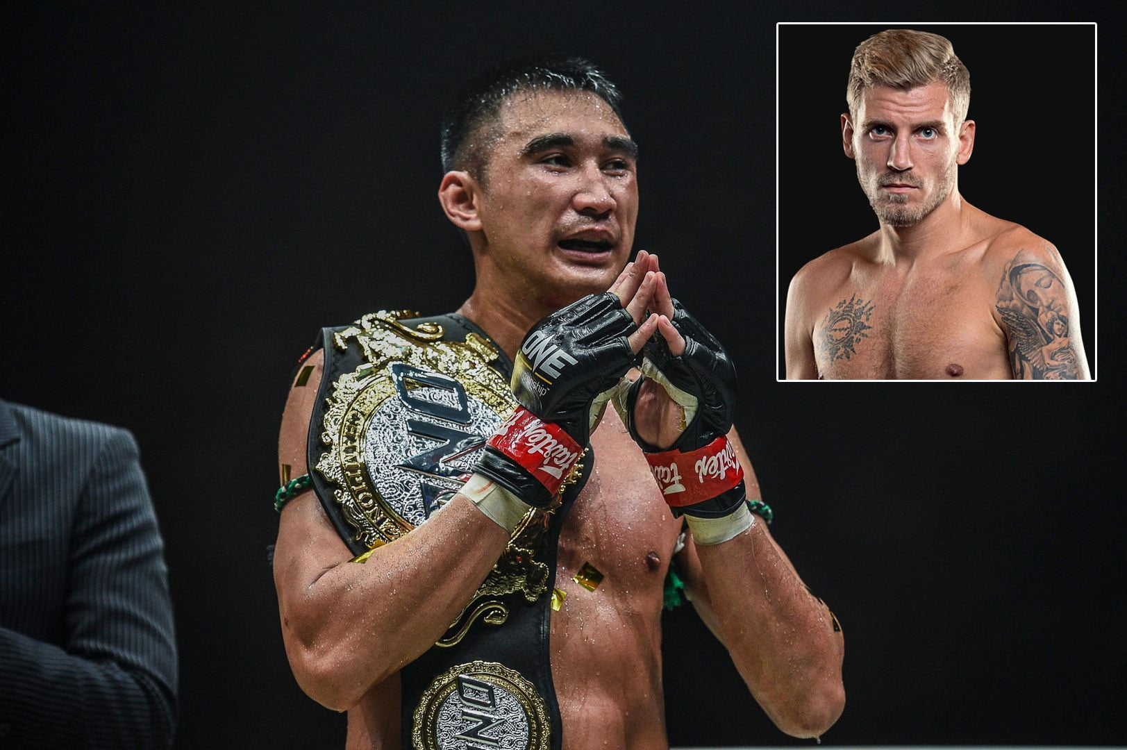 Tiebreaker Times Petchmorakot, Andersson dispute Muay Thai Featherweight World title at ONE: A New Breed III Kickboxing Muay Thai News ONE Championship  Petchtanong Petchfergus Petchmorakot Petchyindee Academy ONE: A New Breed Magnus Andersson Capitan Petchyindee Academy