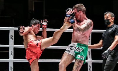 Tiebreaker Times Pongsiri outlasts Clancy in action-packed ONE: A New Breed II main event Muay Thai News ONE Championship  Superlek Kiatmoo9 Supergirl Jaroonsak Muaythai Sean Clancy Pongsiri PK.Saenchai Muaythaigym ONE: A New Breed Milagros Lopez Fahdi Khaled