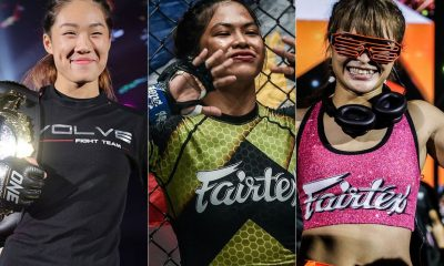 Tiebreaker Times Denice Zamboanga hopes to face Angela Lee first before good pal Stamp Mixed Martial Arts News ONE Championship  Stamp Fairtex Denice Zamboanga Angela Lee