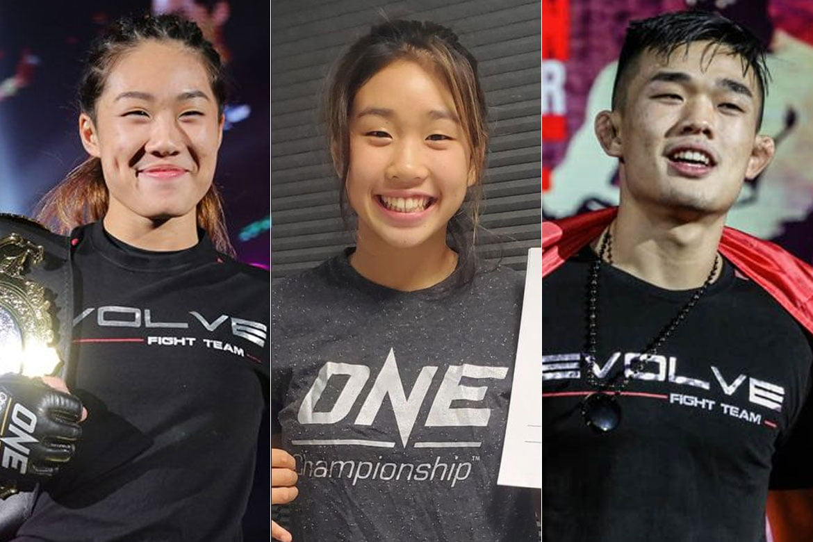 Tiebreaker Times Victoria Lee to follow Angela's and Christian's World Champion footsteps Mixed Martial Arts News ONE Championship  Victoria Lee Christian Lee Chatri Sityodtong Angela Lee
