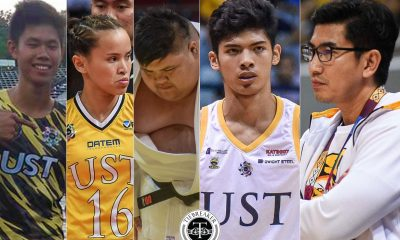 Tiebreaker Times UST greats Obiena, Rondina, Tablan hope school spared from sanctions Basketball News UAAP UST  UST Men's Basketball UAAP Season 83 Men's Basketball UAAP Season 83 EJ Obiena Dither Tablan Cherry Rondina