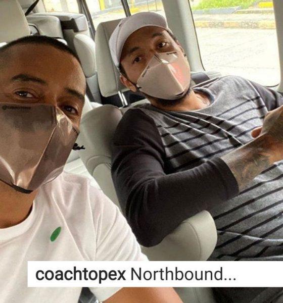 Tiebreaker Times Topex Robinson and Calvin Abueva headed 'northbound' Basketball News PBA  Topex Robinson Phoenix Fuel Masters PBA Season 45 Coronavirus Pandemic Calvin Abueva