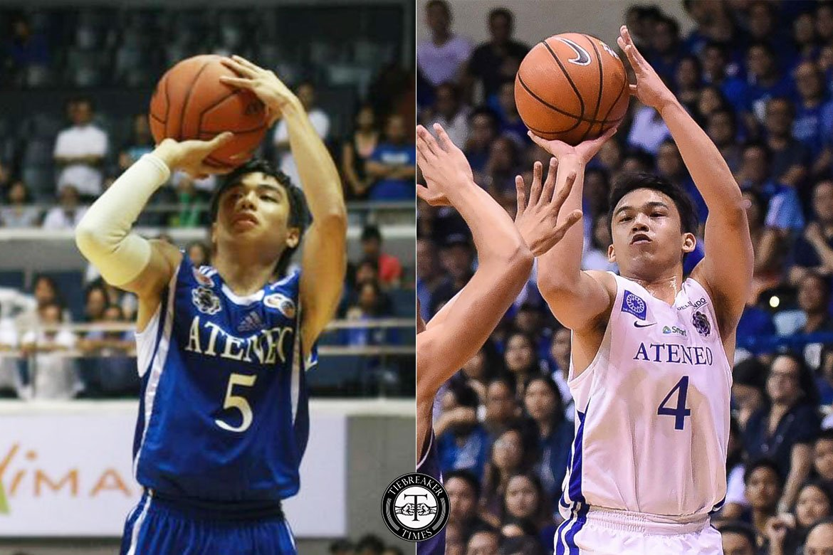 Tiebreaker Times S72 or S81 Ateneo Blue Eagles? Jai Reyes and Anton Asistio give take ADMU Basketball News UAAP  UAAP Season 81 Men's Basketball UAAP Season 81 UAAP Season 72 Men's Basketball UAAP Season 72 Jai Reyes Ateneo Men's Basketball Anton Asistio