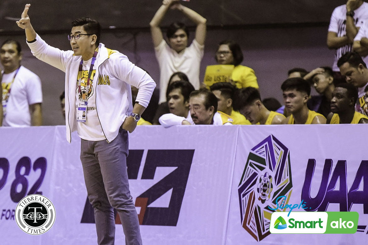 Tiebreaker Times SOURCES: Ironcon pulls out of UST Growling Tigers Basketball News UAAP UST  UST Men's Basketball Team UAAP Season 83 Men's Basketball UAAP Season 83 Jimi Lim Ironcon-UST Growling Tigers