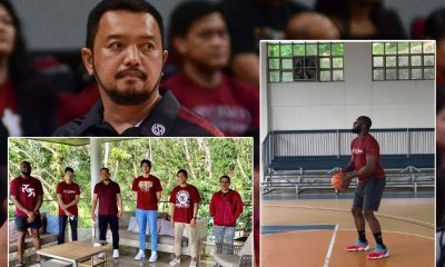 Tiebreaker Times Did UP break protocol during Akhuetie's 'shootaround' in Cavite? Coach Bo says no Basketball News UAAP UP  UP Men's Basketball UAAP Season 83 Men's Basketball UAAP Season 83 Ricci Rivero Gerry Abadiano Coronavirus Pandemic Carl Tamayo Bright Akhuetie Bo Perasol Agaton Uvero
