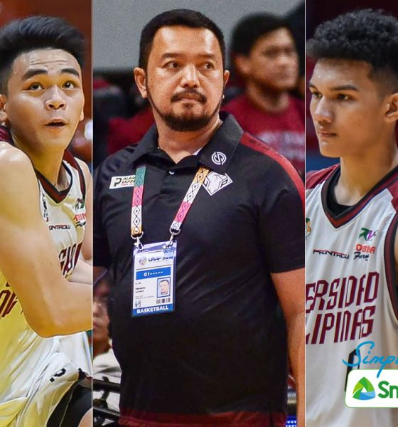 Tiebreaker Times UP interested in Jr. Maroons seniors, but Perasol says they have to compete Basketball News UAAP UP  UPIS Boys Basketball UP Men's Basketball UAAP Season 83 Boys Basketball UAAP Season 83 Sean Torculas Ray Torres Jordi Gomez de Liano Collin Dimaculangan Bo Perasol