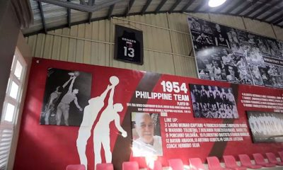Tiebreaker Times Valenzuela City retires jersey of PH great Tony Genato Basketball Gilas Pilipinas News  Valenzuela City Tony Genato Eric Martinez Bahay Alamat