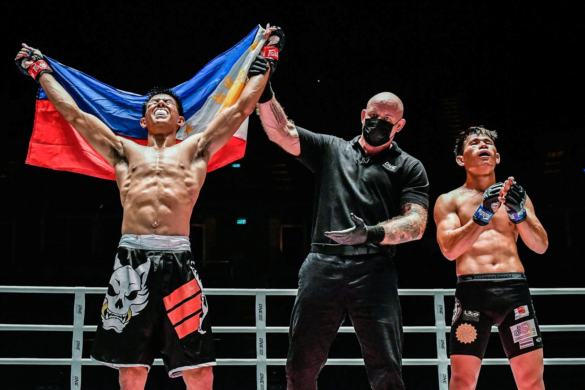 Tiebreaker Times Drex Zamboanga ready for road ahead Mixed Martial Arts News ONE Championship  Toughguys International Drex Zamboanga