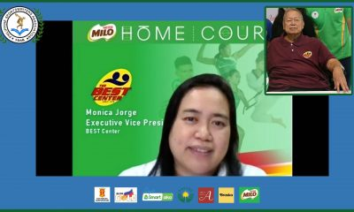 Tiebreaker Times Monica Jorge vows to continue dad Nic's MILO BEST legacy Basketball News  Philippine Sportswriters Association Forum Nic Jorge Monica Jorge Milo Best