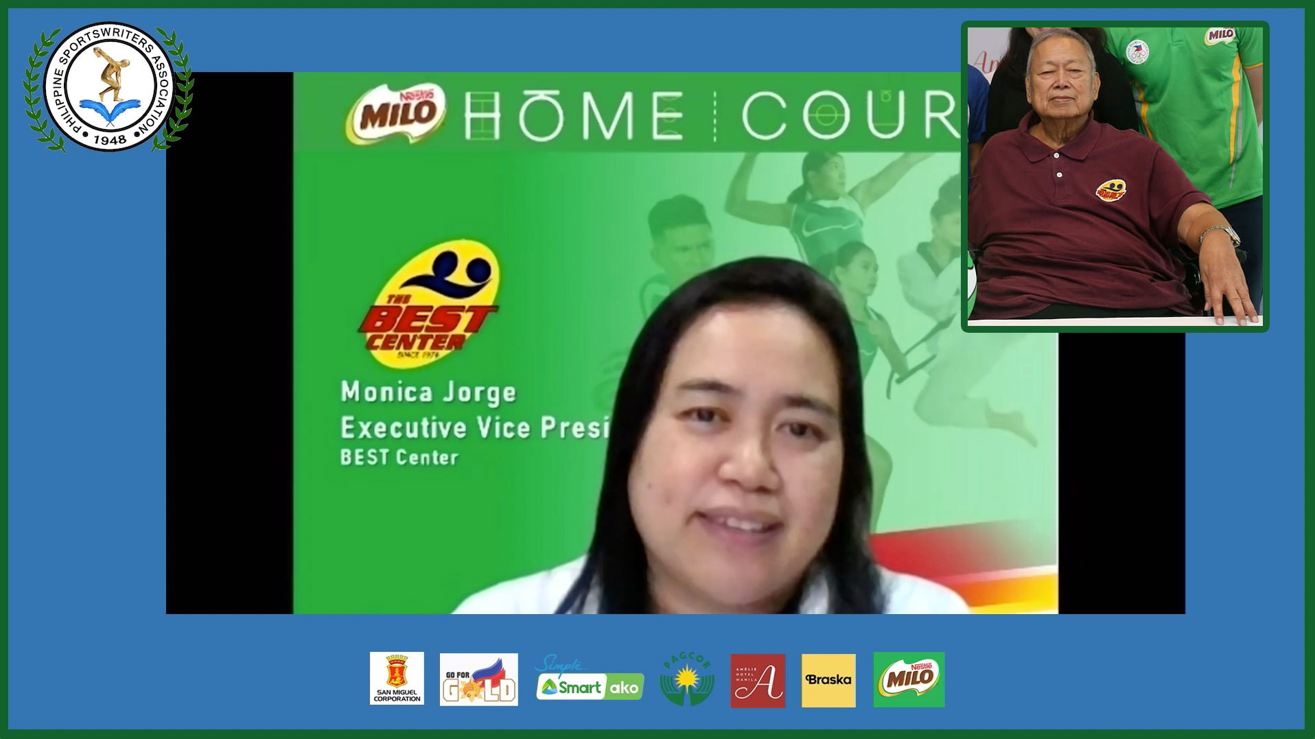 Tiebreaker Times Monica Jorge vows to continue dad Nic's MILO BEST legacy Basketball News  Philippine Sportswriters Association Forum Nic Jorge Monica Jorge Milo Best