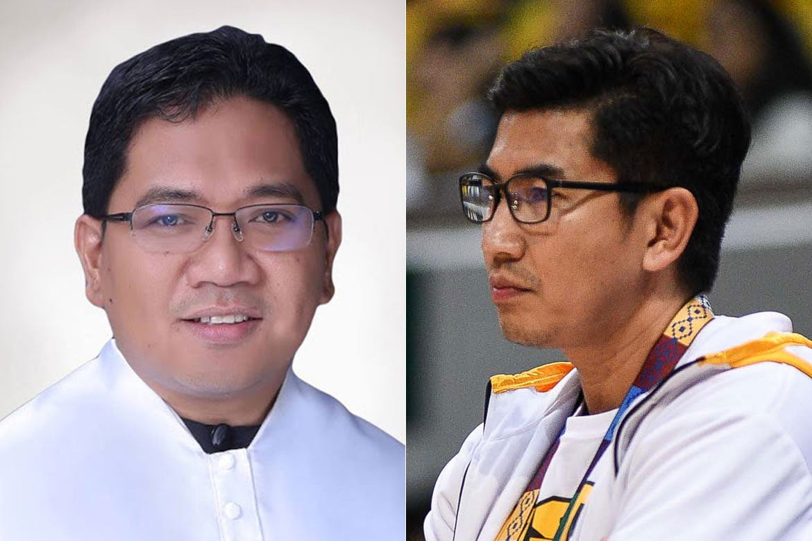 Tiebreaker Times PNP report concludes then-IPEA director knew about Bicol bubble Basketball News UAAP UST  UST Men's Basketball UAAP Season 83 Men's Basketball UAAP Season 83 Fr. Jannel Abogado OP Aldin Ayo