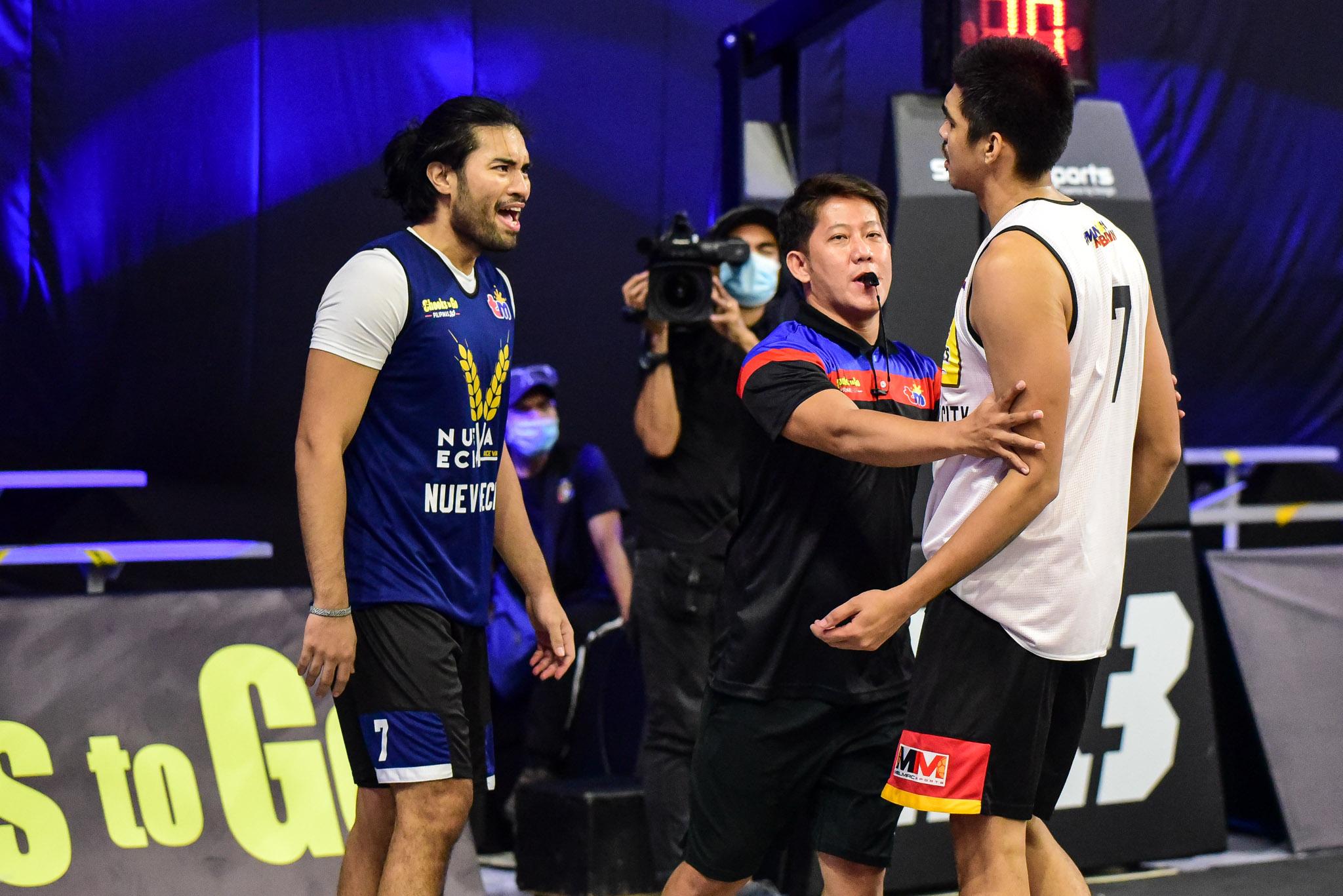 1-Chooks-to-Go-Pilipinas-3X3-Nueva-Ecija-vs-Butuan-Scuffle-3 Franky Johnson can't wait for Butuan-Nueva Ecija rematch 3x3 Basketball Chooks-to-Go Pilipinas 3x3 News  - philippine sports news