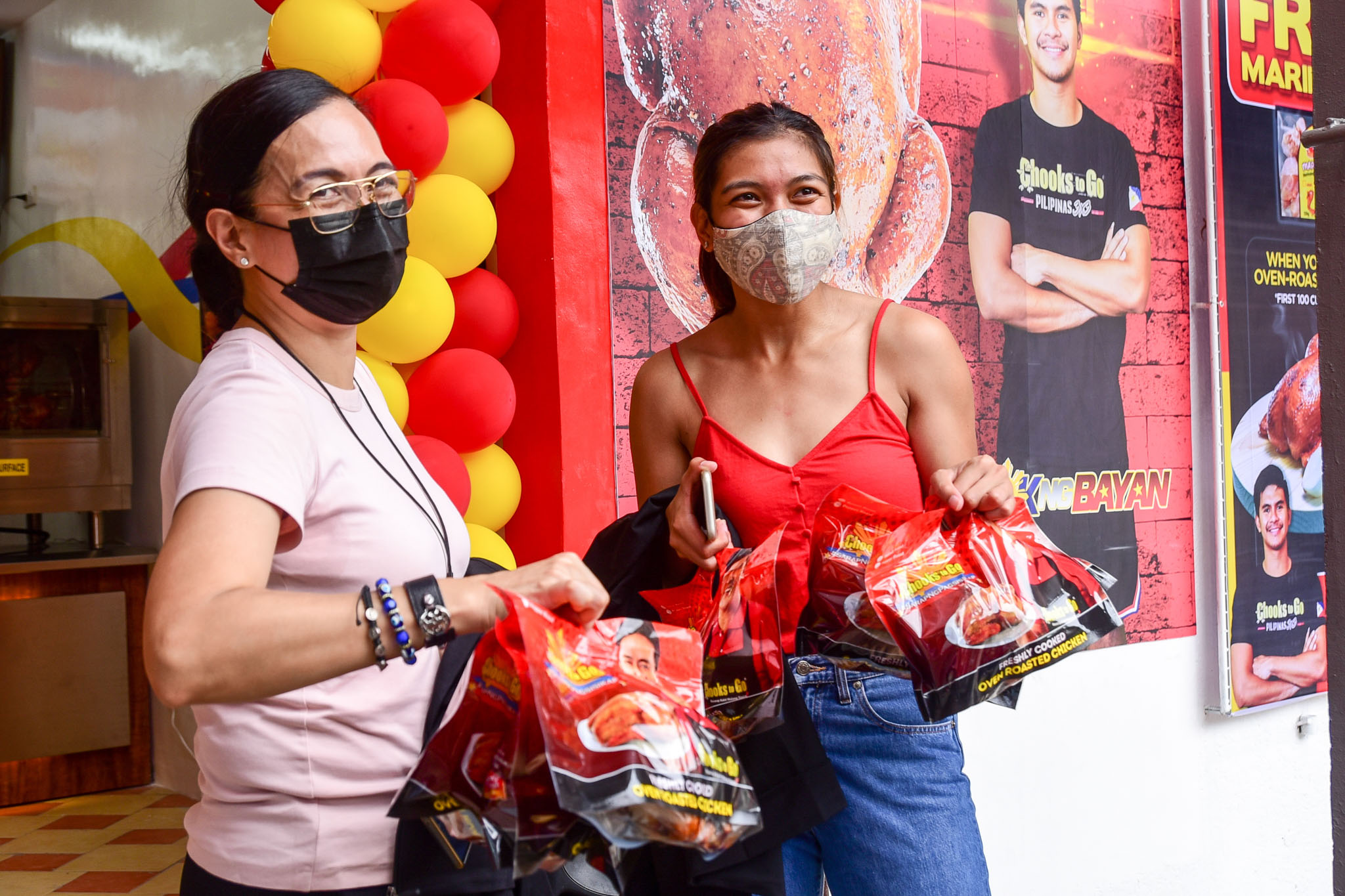 29-Oct-15-Kiefer-Store-Opening_6385 Alyssa Valdez opens Kiefer Ravena's Chooks-to-Go store Branded Content News  - philippine sports news