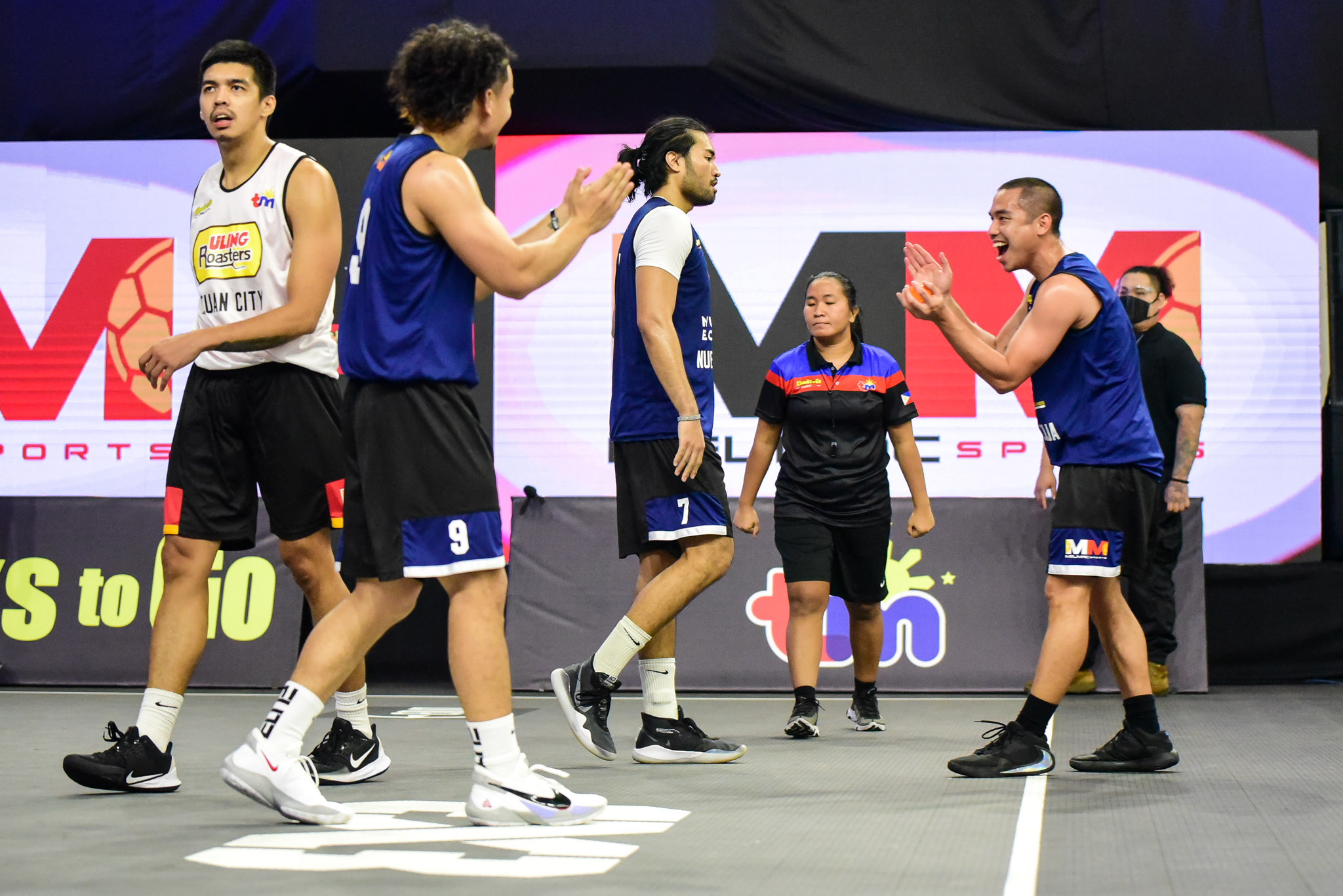 4-Chooks-to-Go-Pilipinas-3X3-Nueva-Ecija-vs-Butuan-Scuffle-4 Franky Johnson can't wait for Butuan-Nueva Ecija rematch 3x3 Basketball Chooks-to-Go Pilipinas 3x3 News  - philippine sports news