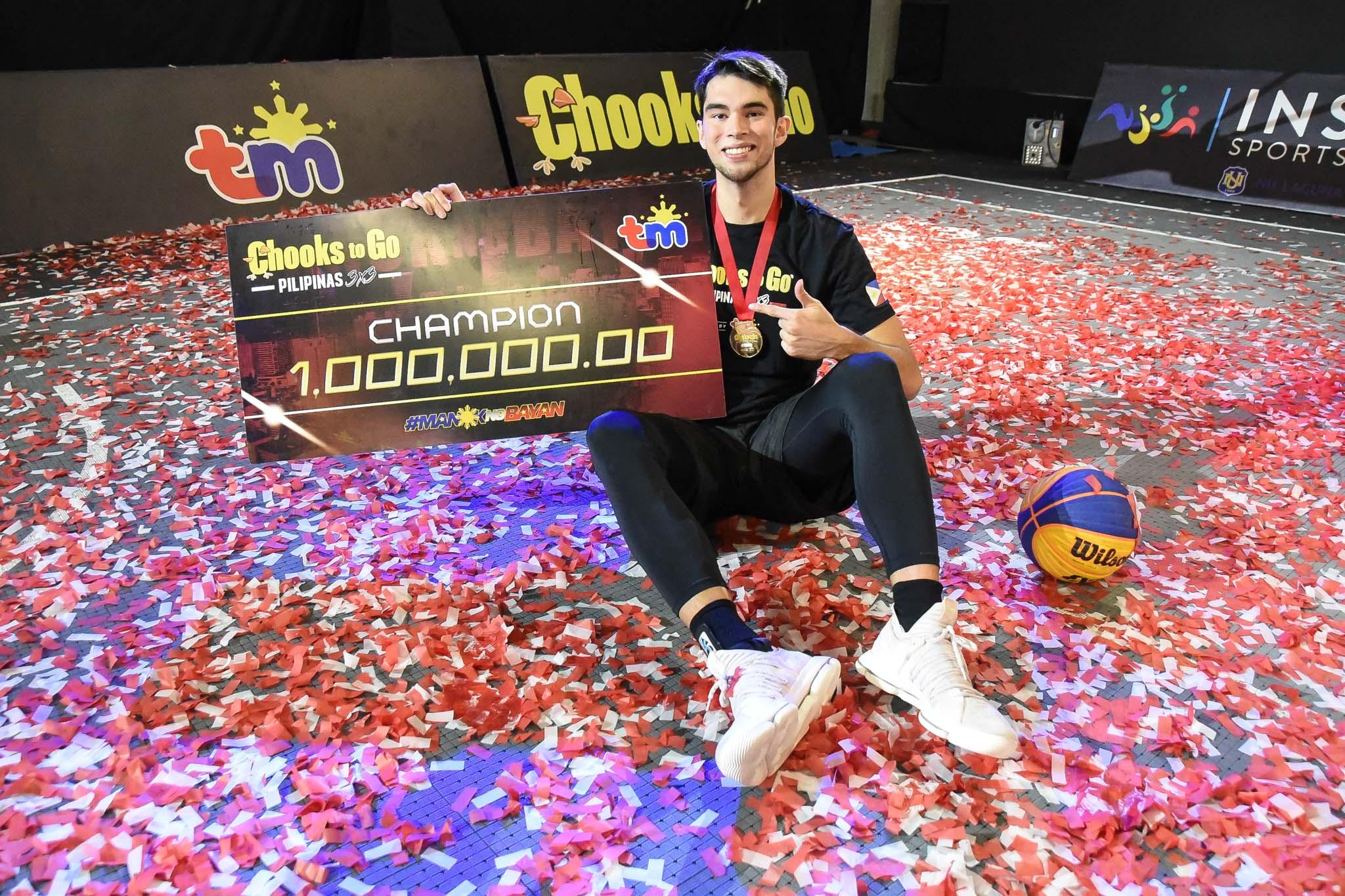 Chooks-to-Go-Pilipinas-3X3-Awarding-Rike How will Munzon, Pasaol, Santillan, and Rike spend their P1.35M winnings? 3x3 Basketball Chooks-to-Go Pilipinas 3x3 News  - philippine sports news