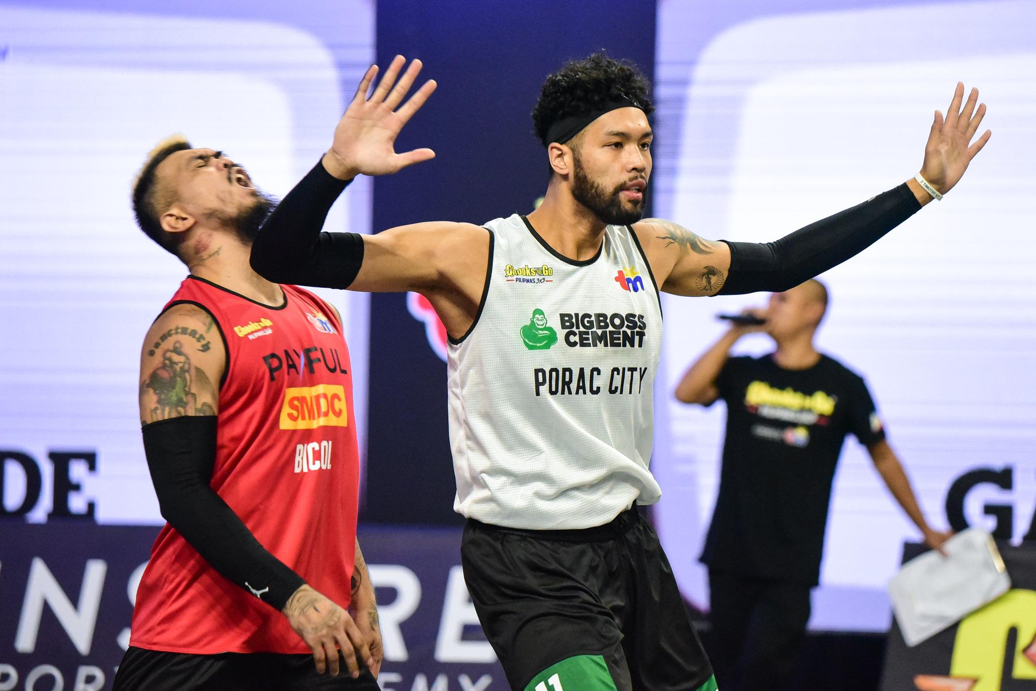 Chooks-to-Go-Pilipinas-3X3-Leg-1-Bicol-vs-Porac-Laput Big Boss Cement-Porac still adjusting to loaded team, 'soft calls' in Chooks 3x3 3x3 Basketball Chooks-to-Go Pilipinas 3x3 News  - philippine sports news