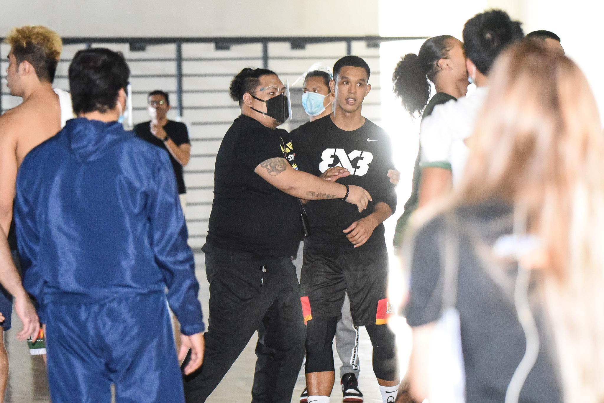 Chooks-to-Go-Pilipinas-3X3-Scuffle-2 In-game trash talk led to Nueva Ecija-Butuan backstage scuffle 3x3 Basketball Chooks-to-Go Pilipinas 3x3 News  - philippine sports news