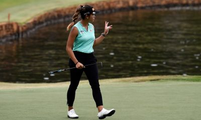 Tiebreaker Times Bianca Pagdanganan owns solo second after LPGA Drive On Reynolds R3 Golf News  Bianca Pagdanganan 2020 LPGA Tour