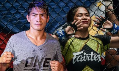 Tiebreaker Times Eduard Folayang's advice to Denice Zamboanga: 'Will to win must be bigger than naysayers' Mixed Martial Arts News ONE Championship  Team Lakay Eduard Folayang Denice Zamboanga