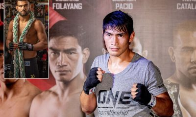 Tiebreaker Times Eduard Folayang set for ONE: Inside The Matrix, takes on Aussie foe Mixed Martial Arts News ONE Championship  Xiong Jing Nan Tiffany Teo Thanh Le Team Lakay Reinier De Riddler ONE: Inside The Matrix Martin Nguyen Iuri Lapicus Eduard Folayang Christian Lee Aung La N Sang