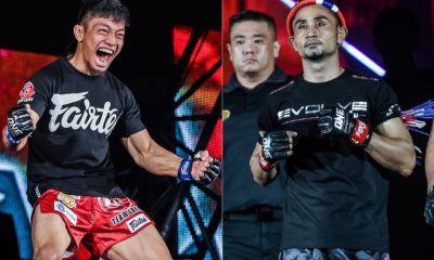 Tiebreaker Times Lito Adiwang on strawweight Muay Thai king Sam-A: 'He's a champion for a reason' Muay Thai News ONE Championship  Team Lakay Sam-a Gaiyanghadao ONE: Reign of Dynasties Lito Adiwang Josh Tonna