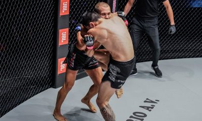 Tiebreaker Times Reece McLaren continues ascent, flattens Toivonen in ONE: Reign of Dynasties Mixed Martial Arts News ONE Championship  Reece McLaren ONE: Reign of Dynasties Aleksi Toivonen