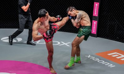 Tiebreaker Times Sam-A stamps class on Tonna, retains ONE Muay Thai crown Mixed Martial Arts Muay Thai News ONE Championship  Sam-a Gaiyanghadao Reece McLaren ONE: Reign of Dynasties Josh Tonna Aleksi Toivonen