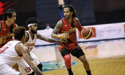 Tiebreaker Times 'Warrior' Chris Ross playing with sprained thumb, bum ankle Basketball News PBA  San Miguel Beermen PBA Season 45 Coronavirus Pandemic Chris Ross