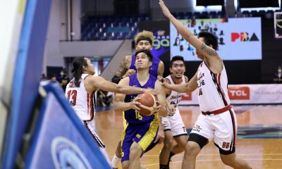 Tiebreaker Times Blackwater, TNT put into isolation as Elite player tests positive Basketball News PBA  Vince Dizon TNT Tropang Giga PBA Season 45 Coronavirus Pandemic Blackwater Elite