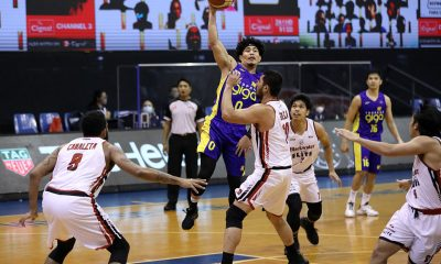 Tiebreaker Times A reliable defender, Bong Ravena glad to see Simon Enciso's scoring back Basketball News PBA  TNT Tropang Giga Simon Enciso PBA Season 45 Coronavirus Pandemic Bong Ravena
